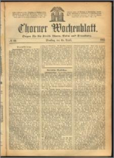 Thorner Wochenblatt 1865, No. 64