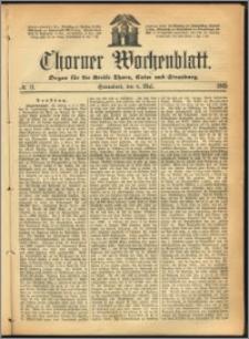 Thorner Wochenblatt 1865, No. 71 + Beilage