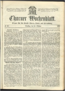 Thorner Wochenblatt 1865, No. 167
