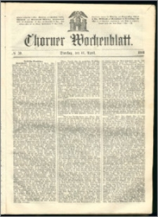 Thorner Wochenblatt 1866, No. 59