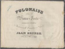 Polonaise pour le piano-forte : composée et dediée à Mademoiselle Caroline Noir