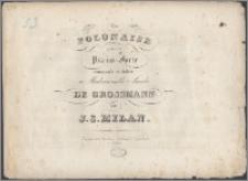 Polonaise pour le piano-forte : composée et dediée à Mademoiselle Amalie de Grossmann