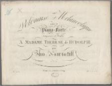 Polonaise melancolique pour le piano-forte : composée et dediée à Madame Therese de Rudolphi. No 1