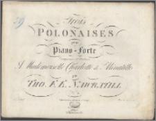 Trois polonaises pour piano-forte : composées et dediées à Mademoiselle Charlotte de Minutillo. No 4
