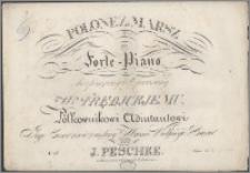 Polonez i marsz na forte-piano : skomponowany i ofiarowany W-mu Trębickiemu Pułkownikowi Adiutantowi J.C.M. Wielkiego Xięcia