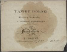 Taniec polski : zaczynający pierwszą maskaradę w Teatrze Narodowym na rok 1827 : skomponowany i ułożony na pianoforte