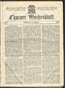Thorner Wochenblatt 1867, No. 2 + Beilage