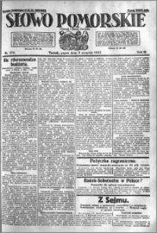Słowo Pomorskie 1923.08.03 R.3 nr 175