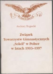 """Związek Towarzystw Gimnastycznych """"Sokół"""" w Polsce w latach 1993-1997"""