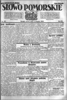Słowo Pomorskie 1923.08.11 R.3 nr 182