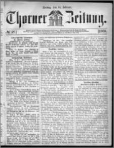 Thorner Zeitung 1868, No. 38