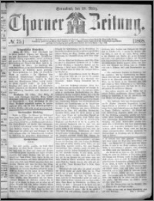 Thorner Zeitung 1868, No. 75