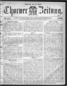Thorner Zeitung 1868, No. 88 + Extra Beilage