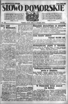 Słowo Pomorskie 1923.08.17 R.3 nr 186