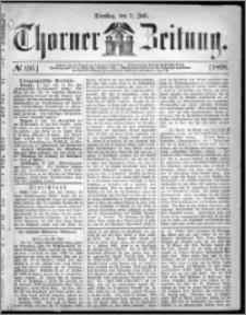Thorner Zeitung 1868, No. 156