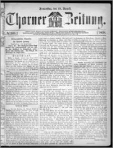 Thorner Zeitung 1868, No. 188