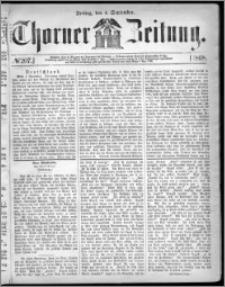 Thorner Zeitung 1868, No. 207