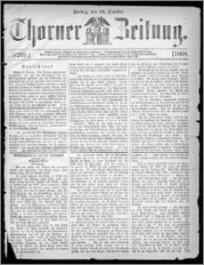 Thorner Zeitung 1868, No. 249 + Beilagenwerbung