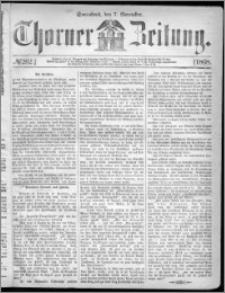Thorner Zeitung 1868, No. 262 + Beilagenwerbung
