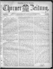 Thorner Zeitung 1868, No. 278