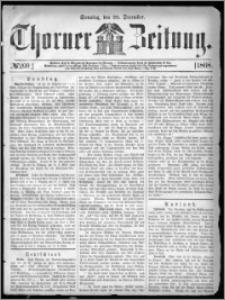 Thorner Zeitung 1868, No. 299 + Beilage