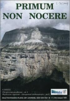 Primum Non Nocere 1999 nr 11