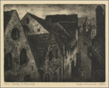 Toruń - dachy ulicy Podmurnej