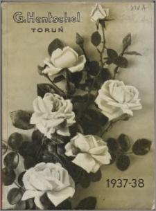 G. Hentschel Gospodarstwo Ogrodnicze : cennik główny : jesień 1937 - wiosna 1938