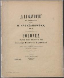 """A la gavotte"" : na fortepian : op 11"