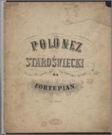 Polonez staroświecki : na fortepian