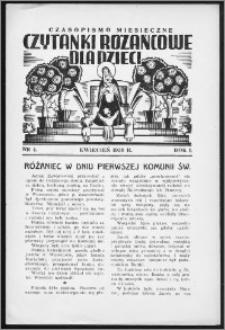 Czytanki Różańcowe dla Dzieci 1938, R. I, nr 4