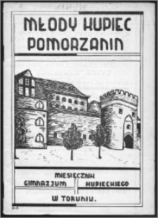 Młody Kupiec-Pomorzanin 1937/1938, R. 1, nr 1