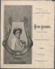 Pani Hrabina : polonez na fortepian