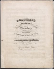 Polonaise brillant : pour le pianoforte compoée et dédiée à monsieur le docteur Frege : ouev. 19