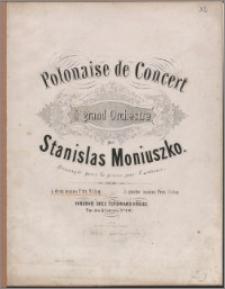 Polonaise de concert à grand orchestre