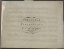 Polonaise favorite : pour le Forte-Piano