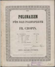 Polonaise : op. 53