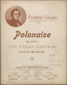 Polonaise : op. 40 No. 1