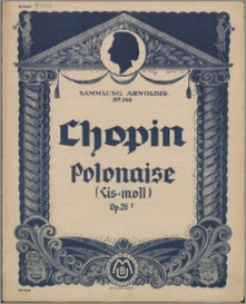 Polonaise in Cis-moll : Op. 26 No. 1