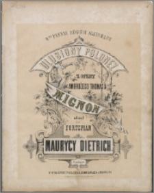 Ulubiony polonez : z opery Ambrożego Thomas'a Mignon : ułożony na fortepian