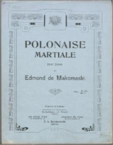 Polonaise martiale : pour piano