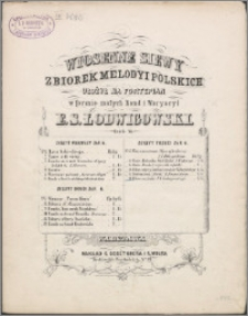 Wiosenne siewy : zbiorek melodyi polskich : dzieło 54. Z. 3, No. 18. Polonez oryginalny
