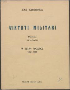 Virtuti Militari : polonez na fortepian : w setną rocznicę 1831-1931