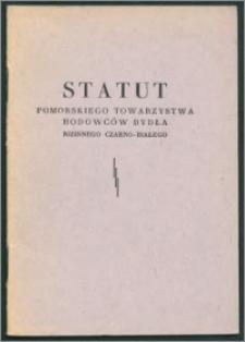 Statut Pomorskiego Towarzystwa Hodowców Bydła Nizinnego Czarno-Białego