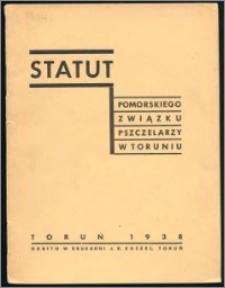 Statut Pomorskiego Związku Pszczelarzy w Toruniu 1938