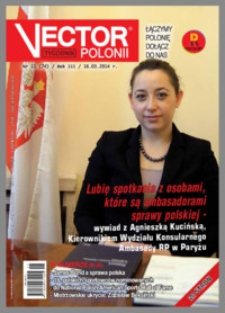 Vector Polonii 2014, R. 3 nr 11 (74)
