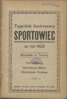 Sportowiec 1923, R. 1 nr 1