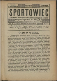 Sportowiec 1923, R. 1 nr 12
