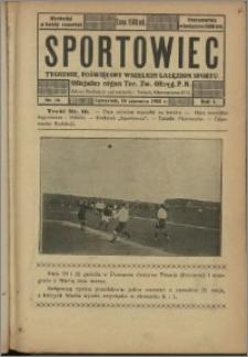 Sportowiec 1923, R. 1 nr 16