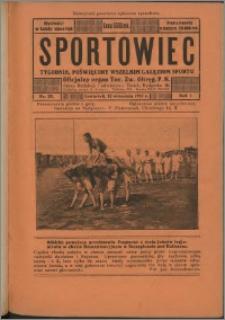 Sportowiec 1923, R. 1 nr 29